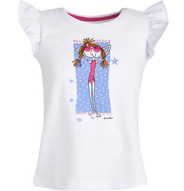 Endo - T-shirt dla dziewczynki 3-8 lat D81G119_1