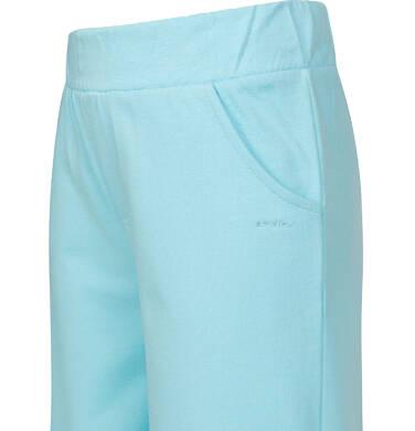 Endo - Spodnie dresowe kultoty dla dziewczynki, jasnoniebieskie, 9-13 lat D03K544_2 6