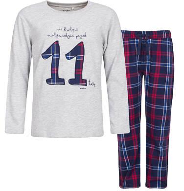 Endo - Piżama flanelowa dla chłopca 9-13 lat C82V505_1