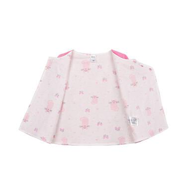 Endo - Rozpinana bluza dla dziecka do 2 lat, myszka mamusi, różowa N03C011_1,2