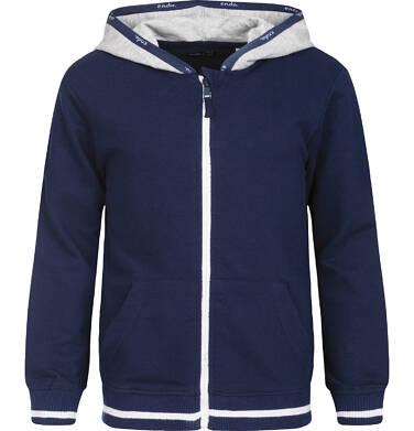 Endo - Bluza z kapturem rozpinana dla chłopca 9-13 lat C82C503_1