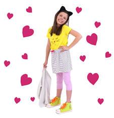 Sukienka z kieszeniami i troczkiem dla dziewczynki 9-13 lat D71H508_1