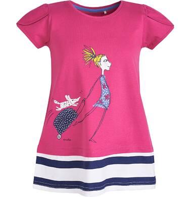 Endo - Tunika z krótkim rękawem dla dziewczynki 3-8 lat D81G154_1