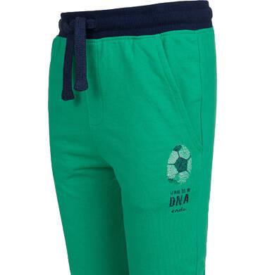 Endo - Spodnie dresowe dla chłopca, zielone, 9-13 lat C04K001_2 2