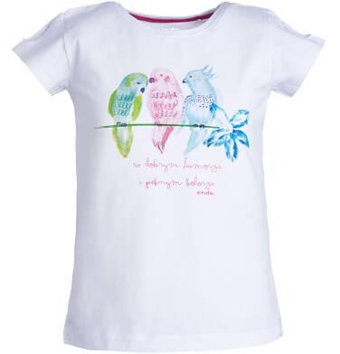 Endo - Bluzka z krótkim rękawem dla dziewczynki 3-8 lat D81G128_1