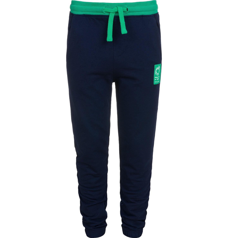 Endo - Spodnie dresowe dla chłopca, granatowe, 2-8 lat C04K004_1