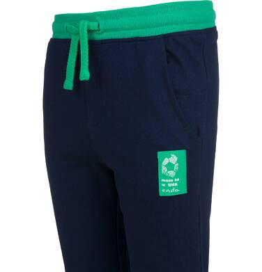 Endo - Spodnie dresowe dla chłopca, granatowe, 2-8 lat C04K004_1,2