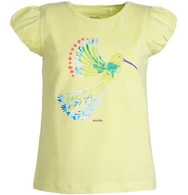 Endo - Bluzka z krótkim rękawem dla dziewczynki 3-8 lat D81G133_1