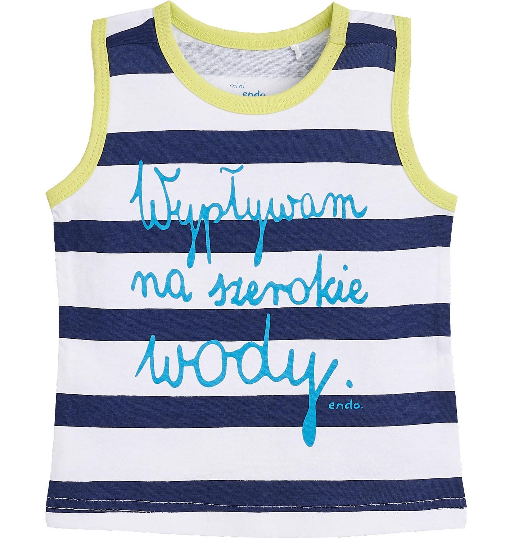 Endo - Koszulka bez rękawów dla dziecka 0-3 lata N81G015_1