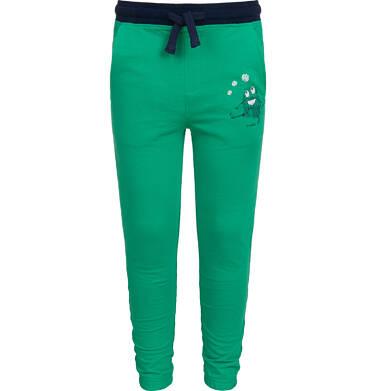 Endo - Spodnie dresowe dla chłopca, zielone, 2-8 lat C04K004_2 26