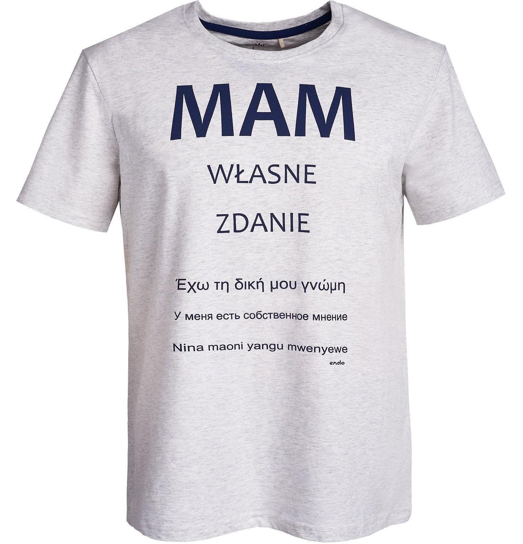 Endo - T-shirt męski Q61G044_1