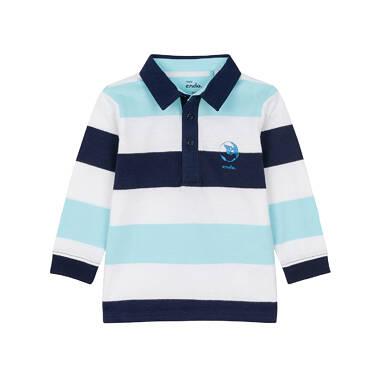 Endo - Koszulka polo z długim rękawem dla dziecka 0-3 lat N91G099_2
