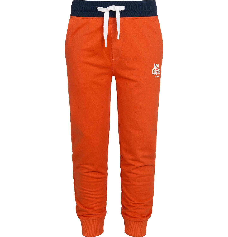 Endo - Spodnie dresowe dla chłopca, pomarańczowe, 9-13 lat C05K017_1