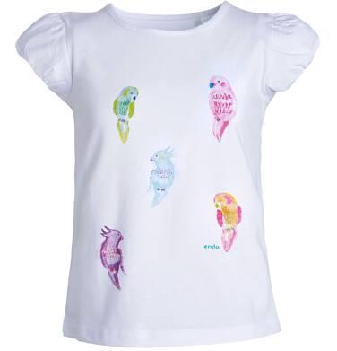 Endo - Bluzka z krótkim rękawem dla dziewczynki 3-8 lat D81G134_1