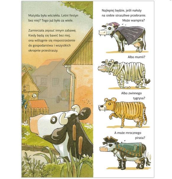 Krowa Matylda Na Urlopie Na Dobranoc Książki Endo