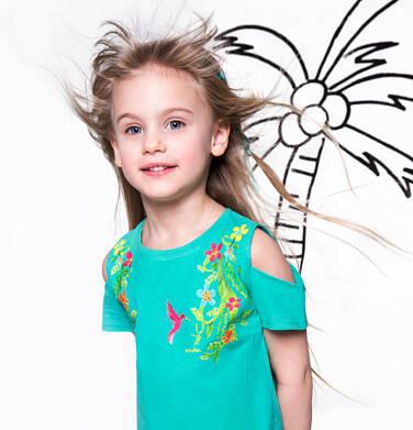 Endo - Tunika z falbanką dla dziewczynki 3-8 lat D81G141_1