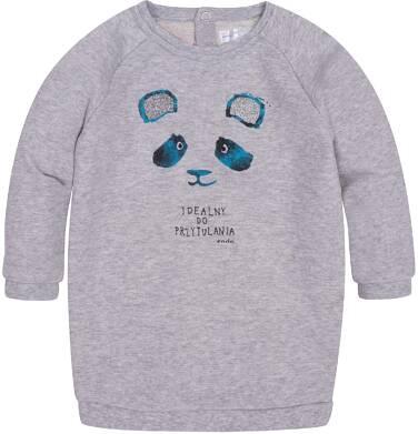 Endo - Sukienka o charakterze bluzy dla dziecka 6-36 m N72H010_1