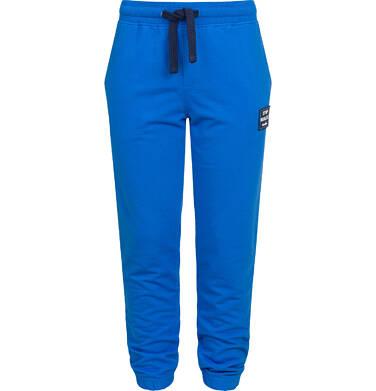 Endo - Spodnie dresowe dla chłopca, niebieskie, 2-8 lat C04K018_2 29