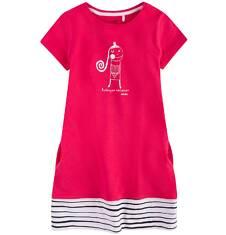 Sukienka trapezowa dla dziewczynki 9-13 lat D71H518_1