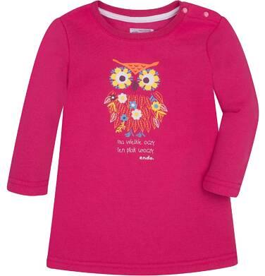 Ciepła sukienka dla dziecka 6-36 m N72H011_1