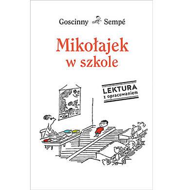 Endo - Mikołajek w szkole. Lektura z opracowaniem BK92087_1