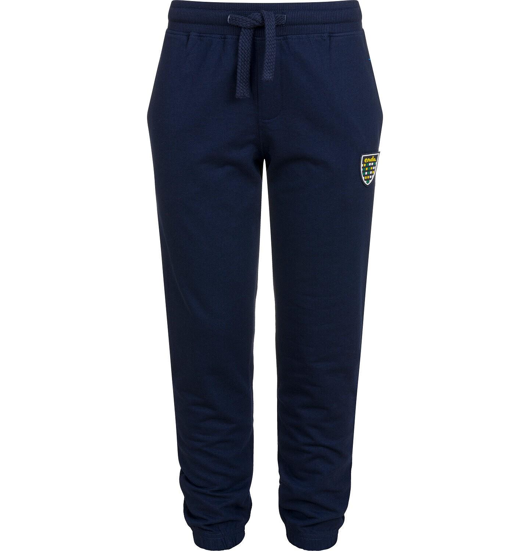 Endo - Spodnie dresowe dla chłopca, granatowe, 2-8 lat C04K018_3