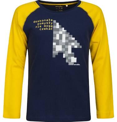 Endo - T-shirt z długim rękawem dla chłopca 9-13 lat C82G592_1