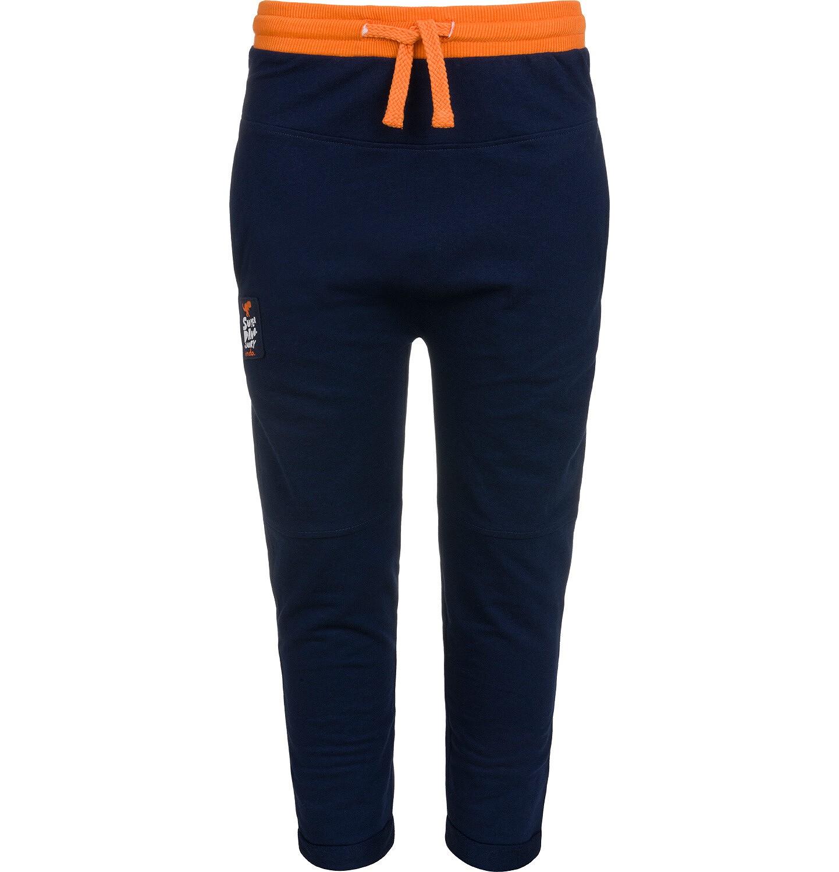 Endo - Spodnie dresowe dla chłopca, granatowe, 2-8 lat C04K022_1