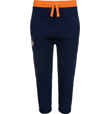 Endo - Spodnie dresowe dla chłopca, granatowe, 2-8 lat C04K022_1 25