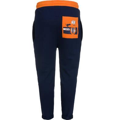 Endo - Spodnie dresowe dla chłopca, granatowe, 2-8 lat C04K022_1,4