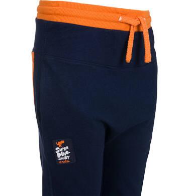 Endo - Spodnie dresowe dla chłopca, granatowe, 2-8 lat C04K022_1,5
