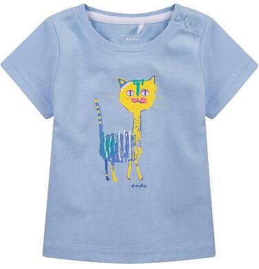 Endo - Bluzka z krótkim rękawem  dla dziecka 0-3 lat N71G058_1