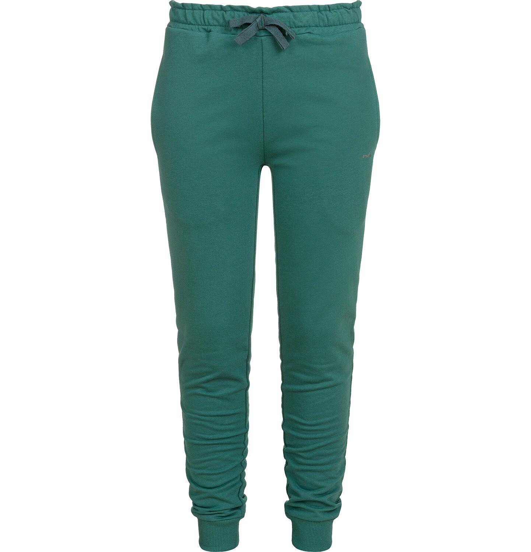 Endo - Spodnie dresowe dla dziewczynki, zielone, 9-13 lat D04K033_2