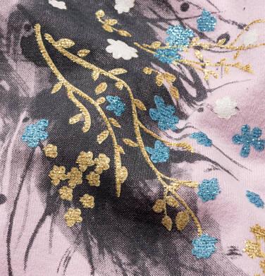 Endo - T-shirt z krótkim rękawem dla dziewczynki, z jednorożcem, różowy, 2-8 lat D05G197_1,2
