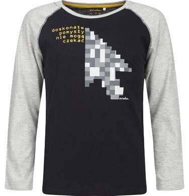 Endo - T-shirt z długim rękawem dla chłopca 9-13 lat C82G597_1