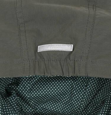 Endo - Przejściowa kurtka parka dla dziewczynki 3-8 lat, ciemnozielona, wzór w kwiaty D91A006_1
