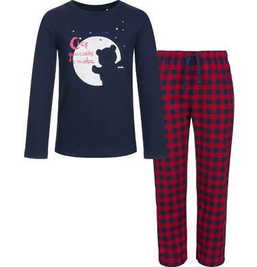 Endo - Piżama z długim rękawem dla dziewczynki 3-8 lat D92V012_1