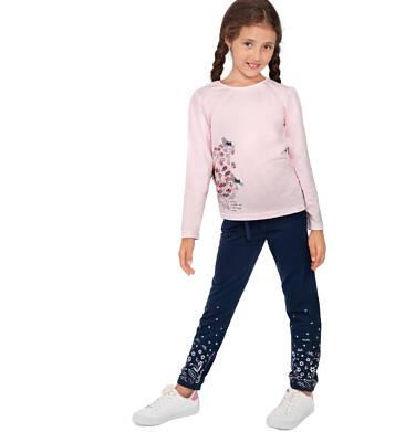 Endo - Spodnie dresowe dla dziewczynki, granatowe, 9-13 lat D04K035_1 12