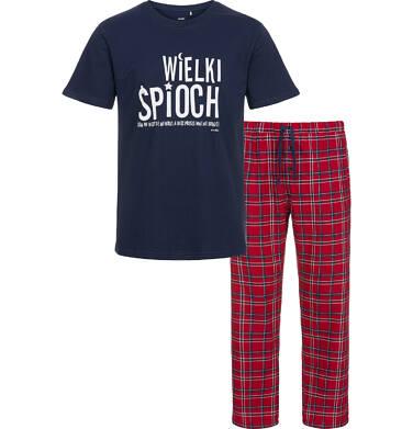Piżama męska z krótkim rękawem Q92V001_1
