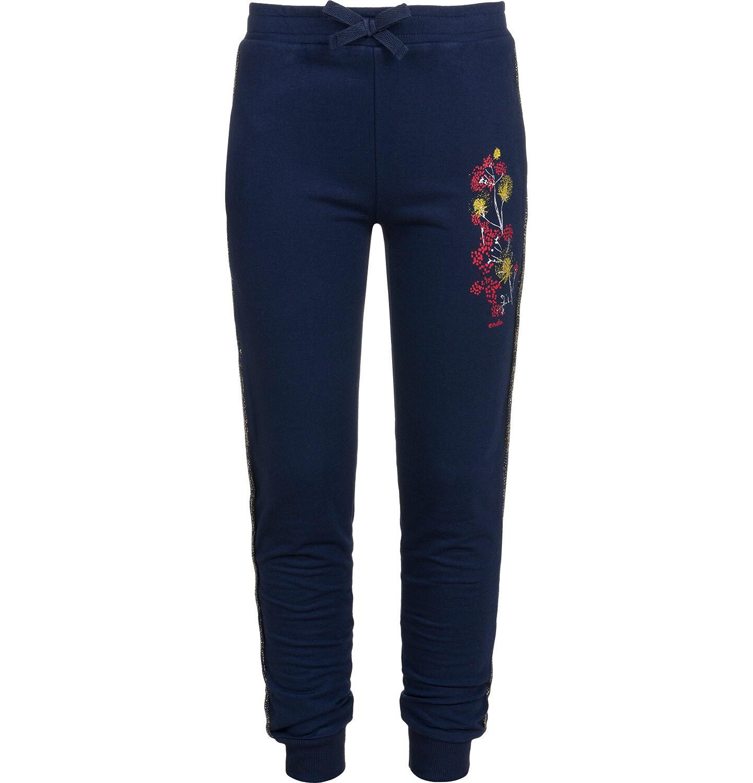Endo - Spodnie dresowe dla dziewczynki, granatowe, 9-13 lat D04K039_1