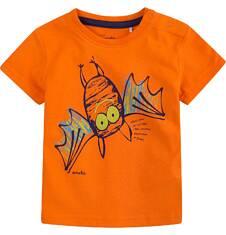 Bluzka z krótkim rękawem  dla dziecka 0-3 lat N71G098_1