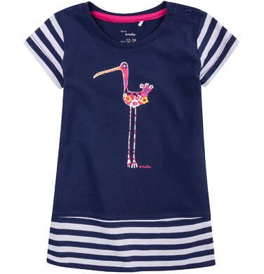 Endo - Tunika z krótkim podwiniętym rękawem dla dziecka 0-3 lat N71H016_1