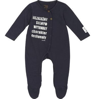 """Endo - """"Niezależny, silny, wytrwały - charakter doskonały"""" Pajac niemowlęcy N82N012_1"""