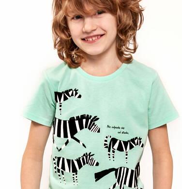 Endo - T-shirt z krótkim rękawem dla chłopca 3-8 lat C91G136_2