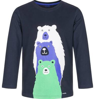 Endo - T-shirt z długim rękawem dla chłopca 9-13 lat C92G539_2