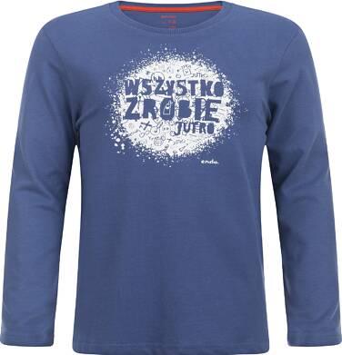 """Endo - """"Wszystko zrobię jutro"""" T-shirt z długim rękawem dla chłopca 9-13 lat C82G505_1"""