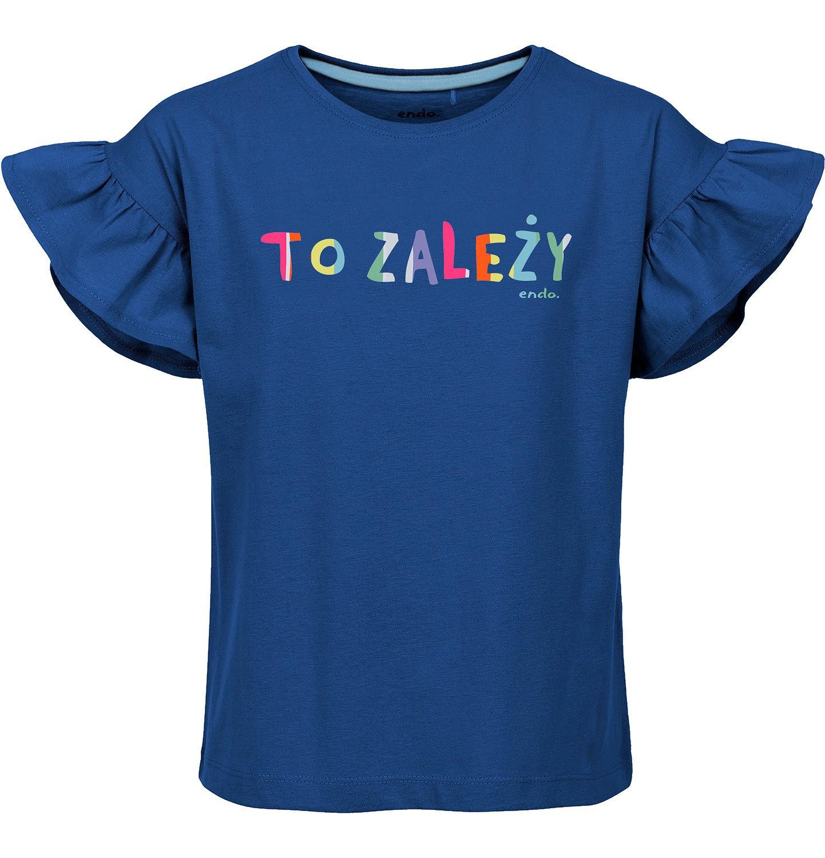 Endo - T-shirt z krótkim rękawem dla dziewczynki 3-8 lat D91G007_1