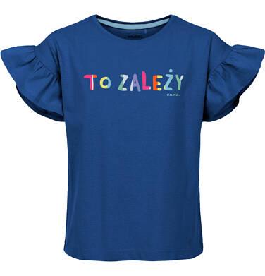 T-shirt z krótkim rękawem dla dziewczynki 3-8 lat D91G007_1