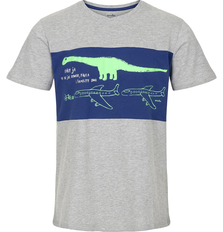 Endo - T-shirt dla mężczyzny Q91G002_1
