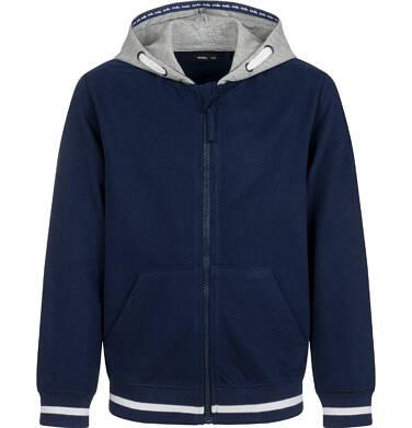 Endo - Rozpinana bluza z kapturem dla chłopca, granatowa, 2-8 lat C03C009_1 165